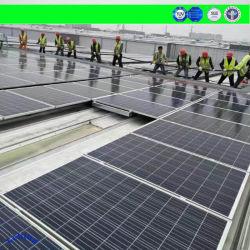 سكة/حامل/مشابك/حامل تثبيت اللوحة الشمسية في الصين/كتيفة لمنتجات الطاقة المنزلية بقدرة 1 كيلو واط على ثقل الموازنة/الزاوية/السقف المسطح، وهيكل معدني من الفولاذ/الألومنيوم