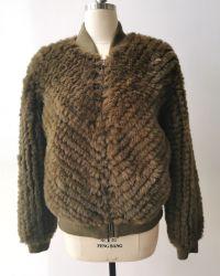 여자의 형식 가짜 모피 Handmade 겨울 재킷