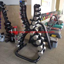 Handelsgymnastik-Geräten-große Kapazitätx Dumbbell stellt Speicherzahnstange ein