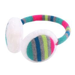 Les enfants de tricot en peluche de plein air d'hiver de l'oreille casque antibruit chauffe-biberon pour Garçons Filles 4-16 ans