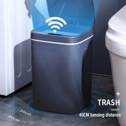 12/14L Groothandel Touch-Free ABS Keuken Automatische vuilnisbak Accumodellen Smart sensor Trash CAN