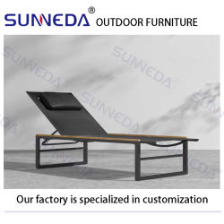 Home Cadeira de lazer exterior moderno mobiliário concebido Secção Patio Luxury Espreguiçadeira