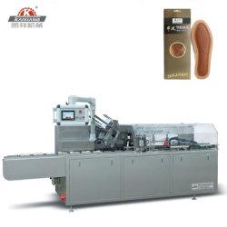 Automatische Schuh-Auflage-kartonierenkasten-Verpackungsmaschine