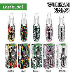 2021 New Leaf Buddi Wuukah Nano Wholesale E シガーショップ 特許取得済みの Vape ペン E-Rig DAB 気化器 Oval Dry Herb ワックス グロスパイプ DAB リグ