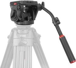 KingJoy VT-3530 Fluid Head 전문가용 비디오 카메라 촬영 헤드 장비 촬영