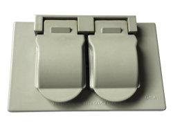 Водонепроницаемая крышки распределительной коробки крышки переключателя для двусторонней печати