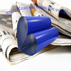 Qualidade constante Print-All Hongtu PS da Placa de impressão em offset para o mercado brasileiro utilizada máquina de impressão offset de 4 cores