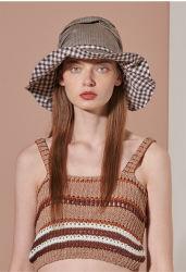 Client Coton et lin Sun Pac, Visor Hat pour Femme 3