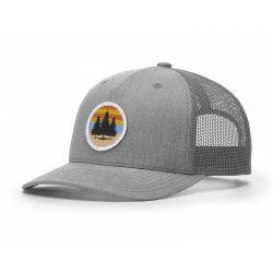 Le sport de haute qualité nouveau design de mode brodé personnalisé 5 panneau camionneur Mesh chapeau avec Patch tissé
