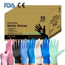 FDA 510K En455 ASTM Protective Surgical/Medical/Exam Safety Work Gloves Wholesale 식품 등급 비의료용 일회용 비닐/라텍스/니트릴 검사 장갑