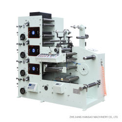 ملصق لصق ذاتي ملصق ملصق ورق R320 4/5/6/7/8 Flexo Label Printing طابعة Machine Letterpress