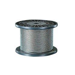 La corde en acier galvanisé Wre 19X7