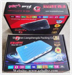 Le récepteur satellite DVB Smart Android recevoir du papier couleur Emballage Box