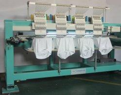 4 cabezales automática máquina de coser de bordado de prendas de vestir con un equipo Dahao18