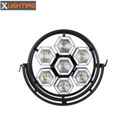 La discoteca illumina l'indicatore luminoso istantaneo esagonale della priorità bassa del retro indicatore luminoso dello stroboscopio del LED SMD5050 RGB
