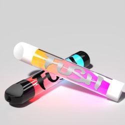 充電式電子 Shisha Vape E-Hookah 使い捨ての味のオイルのベーパ LED ライト