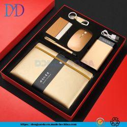 Ordinateur portable, cas de la carte d'affaires, souris sans fil, le Trousseau, Signature stylo, la personnalisation de cadeaux/Banque d'alimentation, Corporate Business Gift Set