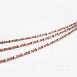 Multiconduttore di plastica del diamante ha veduto per il taglio della lastra del granito