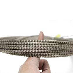 حبل سلك من الفولاذ المقاوم للصدأ بطول 4.0 مم 5.0 مم لخط الملابس