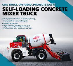 Qyzg 3300 Carga Automática de camiones hormigonera Uso fácil operación de proyectos de ingeniería