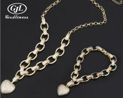 De hete Halsband van de Armband van het Hart van het Zirkoon van de Juwelen van de Manier van de Verkoop Vastgestelde
