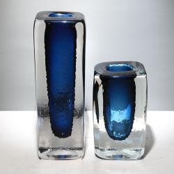 Moderno acristalamiento jarrón de cristal