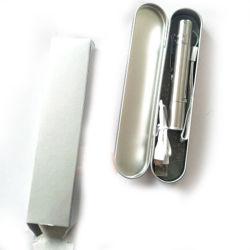 محبوبة مضحك Cat Stick USB قابلة لإعادة الشحن قلم Cat مضحك ثلاثة في ضوء القمر