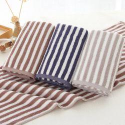 Ultra-suave Whosale fábrica 100% algodão toalha Tarja Dyde