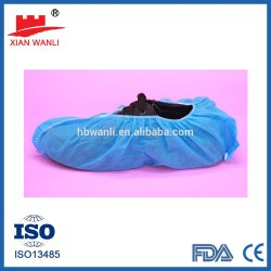 مرونة Xianwanli الجراحي عالية الجودة مستلزمات الجراحيّة لمدة سنتين تاريخ انتهاء الصلاحية مداسات غطاء للاستعمال مرة واحدة