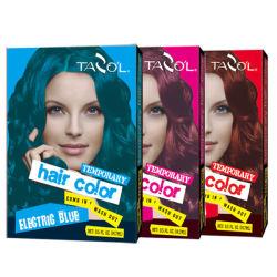 Meninas Fashion cor violeta pentear o cabelo One-Time coloração capilar