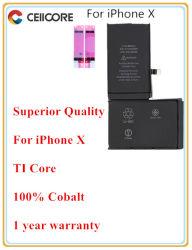 As baterias de substituição de telefone móvel para iPhone x Bateria Bateria de telefone móvel