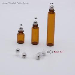 空2ml、5mlの10mlガラス香水のローラーのびん/びんまたは目の血清のびんのびん/ガラスロールの精油ロール