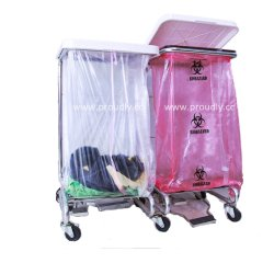 PVA Pvohの病院の伝染制御のための水溶性の洗濯袋