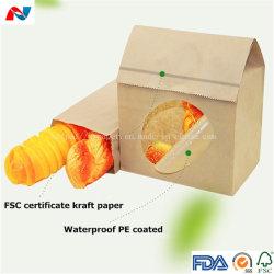 Resistente a la grasa de alta calidad Papel Kraft recubierto de PE para el almuerzo de verificación