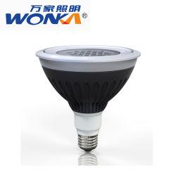 Наружное освещение E26 PAR38 полностью светодиодной лампы освещения по мере роста