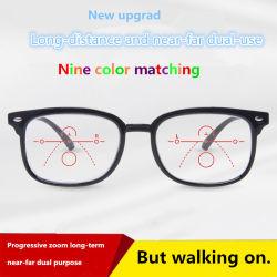 Multi-Focus Presbyopic progressif Verres pour le marketing direct par les fabricants chinois