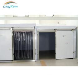 Painel de PU em aço inoxidável Porta Corrediça/ Porta articulada para a sala de armazenagem fria com aprovado pela CE
