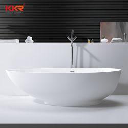 Tranchant baignoire autostable blanc mat par Kingkonree Surface solide