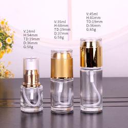 Qualitäts-runde Glaslotion-acrylsauerflasche