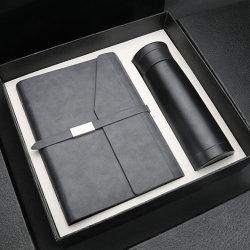 Housse en cuir et de l'ordinateur portable Stylo en métal Gift Set pour homme d'affaires