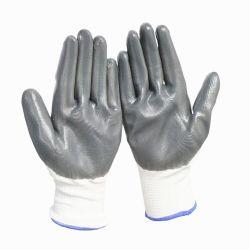 Revestimiento de látex antideslizante punción y cortar la prueba de la construcción de guante de trabajo
