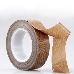 Hochtemperatur-PTFE Gewebe-Teflonband, PTFE beschichtete Fiberglas-Band für elektronische Isolierung, Hochspannungskabel