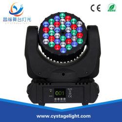 36*3W Mini LED RGBW Beam&Déplacer la tête de lavage PRO lumière