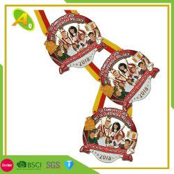 Gebrauchsfertige kundenspezifische Marathon-Sport-Sitzungs-Medaillen (128)