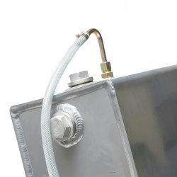 주문을 받아서 만들어진 가득 차있는 알루미늄 Intercooler 공기 기름 냉각기 방열기 Intercooler 코어