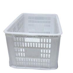 سلال صندوق تخزين متعدد الأغراض من البلاستيك Crate HDPE
