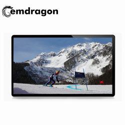 LCD 광고 화면 벽면 마운트 화면 43인치 LCD 터치 스크린 모니터 광고 보드