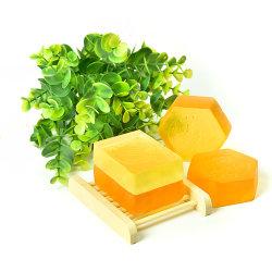 O OEM Mel puro transparente de sabão amarelo Natural mel de abelha Soap do produto
