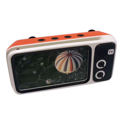 Le taux de PTH Portable800 Retro Radio Mini sans fil basse lourd 3D stéréo hi-fi surround sound TV haut-parleur Bluetooth