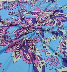 De afgedrukte Stof van de Polyester van Lycra Spandex voor Swimwear